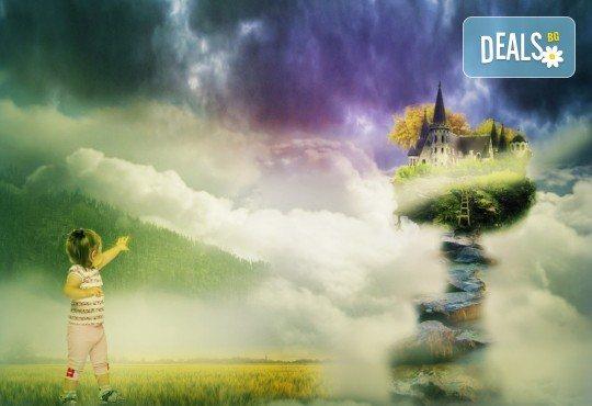 Куклен театър на 09.12. от 13:00ч. в замъка Влюбен във вятъра в Равадиново, сувенир, бутилка минерална вода и разходка из комплекса - за двама човека или 4-членно семейство - Снимка 4