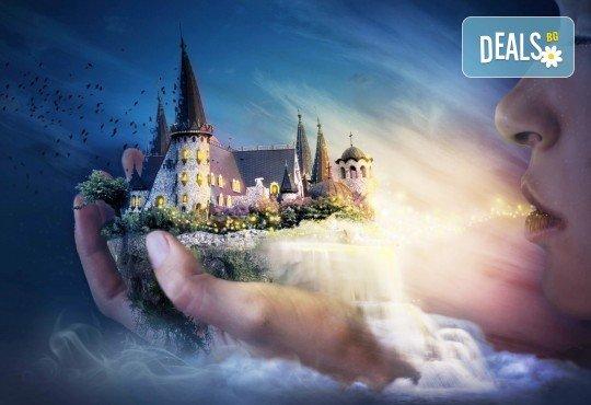 Куклен театър на 09.12. от 13ч. в замъка в Равадиново, подарък, бутилка вода и обиколка