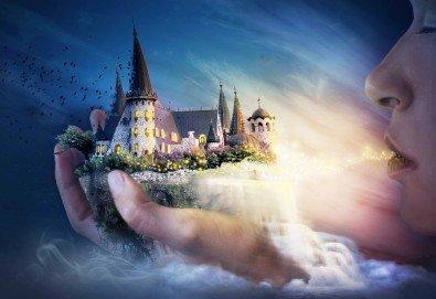 Куклен театър на 09.12. от 13:00ч. в замъка Влюбен във вятъра в Равадиново, сувенир, бутилка минерална вода и разходка из комплекса - за двама човека или 4-членно семейство - Снимка