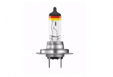 Произведено в Германия! Вземете 2 броя автомобилни крушки от лимитираната серия Osram LCG H7 с немския флаг за преден фар! - Снимка