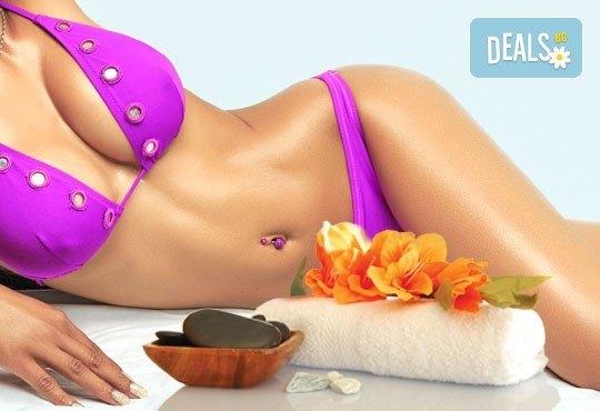 Перфектен силует! 1 или 5 антицелулитни масажа на всички засегнати зони с френска био козметика Blue Marine в Anima Beauty&Relax - Снимка 3