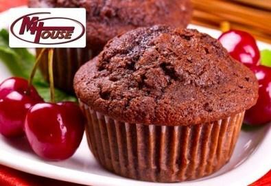 Сладко изкушение от Muffin House! 50 или 100 мини мъфини - микс от видове с превъзходен вкус - Снимка