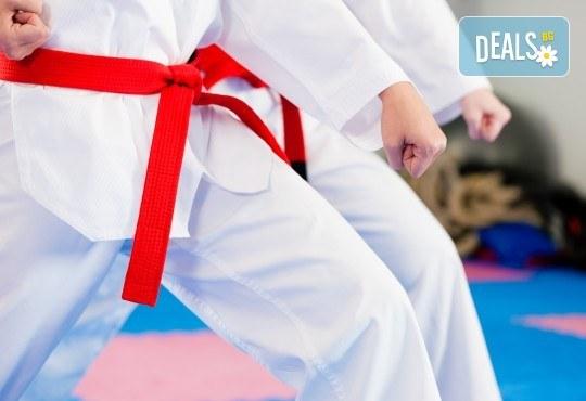 4 или 8 тренировки карате за деца с инструктор от Карате клуб Будошин в Божествени тела Аеробик спорт, Варна! - Снимка 1