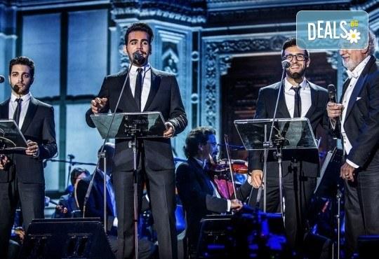 На 26.12. от 20ч. Кино Арена представя грандиозно музикално събитие! IL VOLO с Пласидо Доминго и Notte MAGICA, в зали PREMIUM и LUXE, в страната - Снимка 2