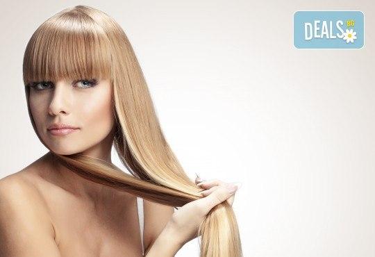 Нежна грижа за здрава коса! Подстригване, арганова терапия или терапия за мазен скалп в салон за красота Noni Style - Снимка 3