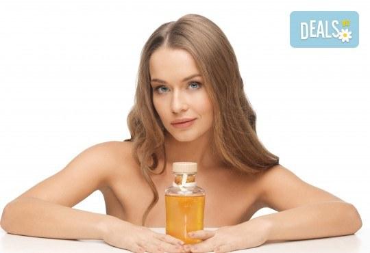Нежна грижа за здрава коса! Подстригване, арганова терапия или терапия за мазен скалп в салон за красота Noni Style - Снимка 1