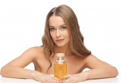Нежна грижа за здрава коса! Подстригване, арганова терапия или терапия за мазен скалп в салон за красота Noni Style - Снимка