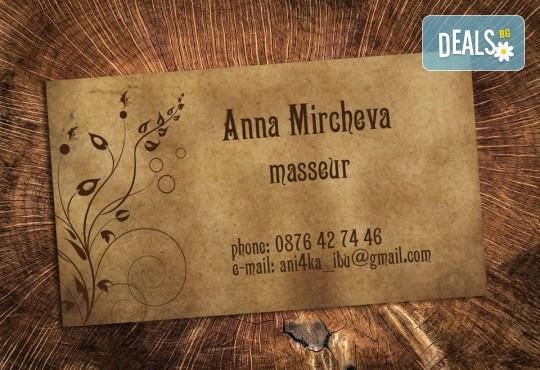 За бизнеса! 1000 луксозни двустранни визитки с UV лак гланц, пълноцветен печат от Studio SVR Design! - Снимка 5