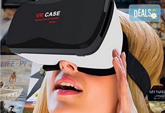 Пренесете се в ново измерение! 3D VR case 5 и очила за виртуална реалност от Онлайн магазин за подаръци Банана - Снимка 3