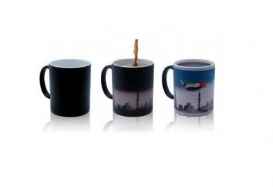 Зарадвайте роднина или приятел с оригинална керамична чаша с магичен ефект и Ваша снимка, от Онлайн магазин за подаръци Банана - Снимка