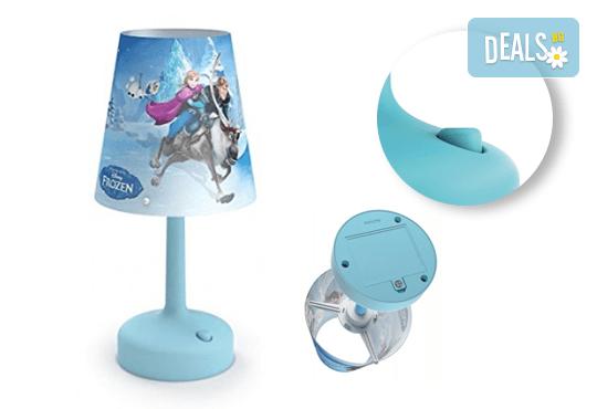Изненадайте своя малчуган с преносима LED лампа на Philips с обичаните герои от анимацията на Disney Frozen! - Снимка 3
