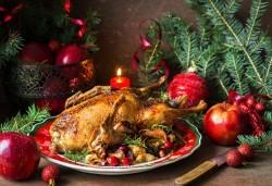 Празнична пуйка, пълнена с ориз и зеленчуци, по традиционна рецепта от кулинарна работилница Деличи! - Снимка
