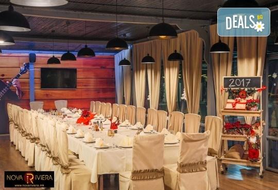 Коледа в Hotel Nova Riviera 3*, Охрид! 2 нощувки със закуски и вечери, едната празнична, с жива музика и напитки, транспорт, екскурзовод и програма - Снимка 9