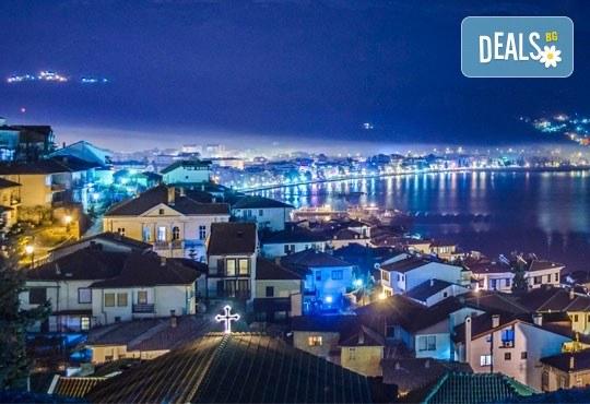 Коледа в Hotel Nova Riviera 3*, Охрид! 2 нощувки със закуски и вечери, едната празнична, с жива музика и напитки, транспорт, екскурзовод и програма - Снимка 2