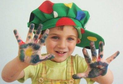 1 месец полудневни занимания за деца в предучилищна възраст от 3 до 6 год. в Детски арт център Приказка! - Снимка