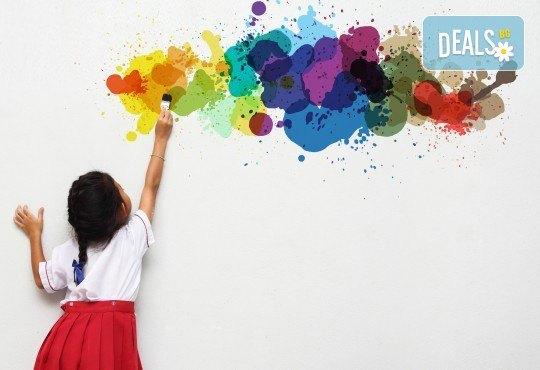 Забавни моменти! 1 седмица полудневни занимания за деца в предучилищна възраст в Детски арт център Приказка! - Снимка 1