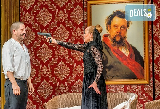 На театър! Асен Блатечки, Койна Русева, Калин Врачански в Малко комедия, на 10.12. от 19ч, Театър Сълза и Смях, 1 билет - Снимка 6