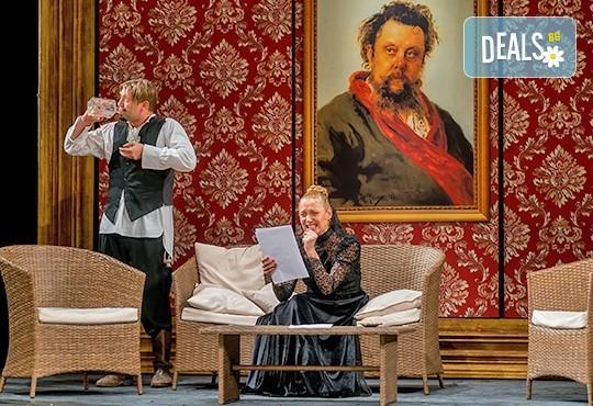 На театър! Асен Блатечки, Койна Русева, Калин Врачански в Малко комедия, на 10.12. от 19ч, Театър Сълза и Смях, 1 билет - Снимка 4