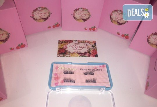 Край с неприятното лепило! Вземете комплект магнитни мигли от салон за красота Vintage Dolls! - Снимка 1