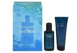 Вземете оригинален подаръчен комплект Cool Water Davidoff за мъже - тоалетна вода и душ гел + безплатна доставка! - Снимка