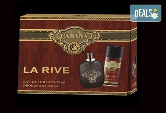 Мъжка територия! Вземете оригинален подаръчен комплект La Rive Cabana - тоалетна вода и дезодорант, с безплатна доставка! - Снимка 1