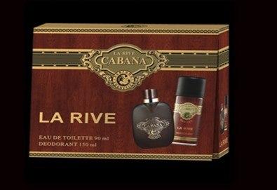 Мъжка територия! Вземете оригинален подаръчен комплект La Rive Cabana - тоалетна вода и дезодорант, с безплатна доставка! - Снимка