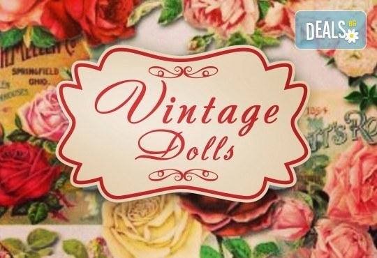 Завършете стила си със страхотен маникюр с гел лак Bluesky и 2 камъчета в салон за красота Vintage Dolls - Снимка 9
