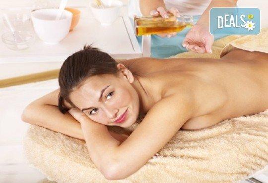 Изчистете тялото си от токсините и релаксирайте! Императорски огнен масаж с масло от маслина в студио за красота Secret Vision - Снимка 2