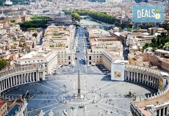 Гранд тур Италия 2018-та, дата по избор: самолетен билет, 7 нощувки със закуски, хотели 3*