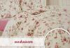 Подарък за дома! Луксозен комплект спално бельо ранфорс, 100% памук, двоен или единичен, десени от колекция Любов, Zavivkite.com! - thumb 7