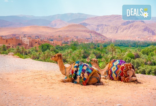 Ранни записвания за Великден в Мароко! Самолетен билет, летищни такси, трансфери, 5 нощувки със закуски и вечери в хотели 4*, туристическата програма - Снимка 1