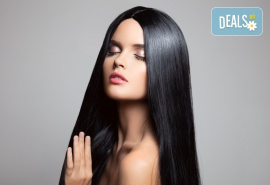 Блестяща и подхранена коса! Терапия с арган и оформяне на прическа със сешоар в студио за красота Secret Vision - Снимка 2