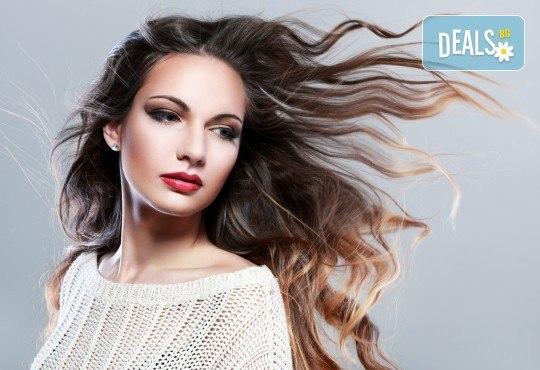 Подстригване, терапия за коса и оформяне на прическа в салон Bella Style