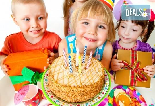 Супер оферта за детки рожден ден! 3 часа детско парти с много игри, томболи и изненади + топли напитки, соленки и комплименти от Зала за детски празници Сладкишчето! - Снимка 2