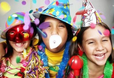 Супер оферта за детки рожден ден! 3 часа детско парти с много игри, томболи и изненади + топли напитки, соленки и комплименти от Зала за детски празници Сладкишчето! - Снимка