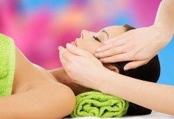 За сияйна кожа с равномерен тен! Релаксиращ масаж на лице и лимфен дренаж в салон за красота Слънчев ден - Снимка