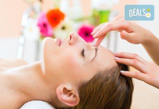 За сияйна кожа с равномерен тен! Релаксиращ масаж на лице и лимфен дренаж в салон за красота Слънчев ден - Снимка 2