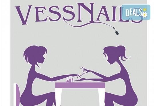 Красиви ръце! Дълготраен маникюр с гел лак Le Vole и 2 декорации в Студио за маникюр Vess Nails - Снимка 16