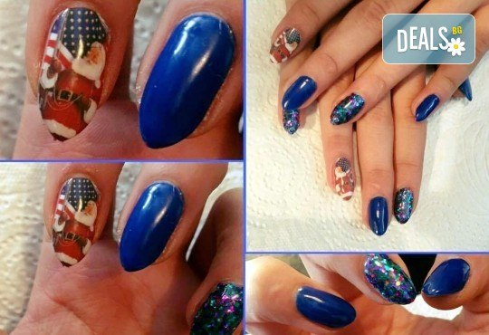 Красиви ръце! Дълготраен маникюр с гел лак Le Vole и 2 декорации в Студио за маникюр Vess Nails - Снимка 8