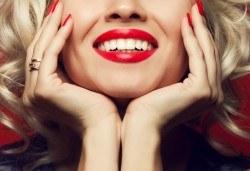 Холивудска усмивка! Професионално избелване на зъби със система и LED лампа от Sun-Dental - Снимка