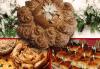 За Коледа и Нова година! Супер предложение с коледно-новогодишни баница с късмети, тиквеник, щрудел и погача с надпис Весела Коледа или ЧНГ 2018 от Пекарна Слънце! - thumb 1