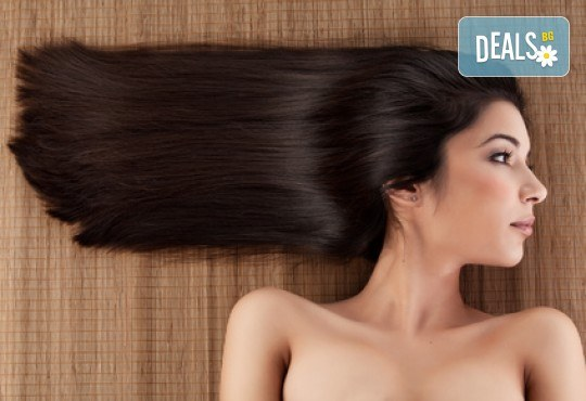 Боядисване с боя на клиента, масажно измиване, терапия с маска и оформяне на косата със сешоар в Салон за красота Дъга! - Снимка 2