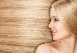 Нова визия! Боядисване с боя на салона, терапия с маска и оформяне на косата със сешоар в Салон за красота Дъга! - Снимка