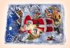 За Коледа и Нова година! Kоледна торта 16 парчета със снимка за празниците от Muffin House! - thumb 3