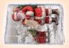 За Коледа и Нова година! Kоледна торта 16 парчета със снимка за празниците от Muffin House! - thumb 1