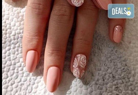 Прекрасни ръце! АРТ маникюр с гел лак, 4 рисувани декорации и арт елементи при маникюрист в Студио за маникюр Vess Nails - Снимка 7