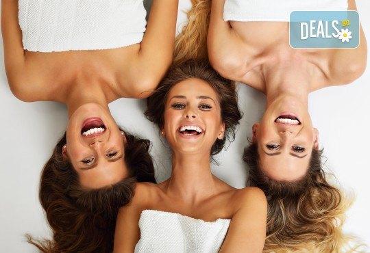 Вашите любими жени! Масаж за 2 или 3 дами в Senses Massage &