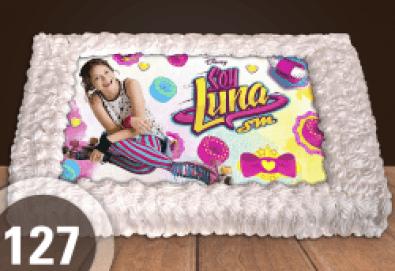 За момичета! Красиви торти със снимки на принцеси, феи и герои от филмчета за всички малки госпожици от Сладкарница Джорджо Джани! - Снимка
