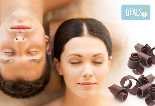 Романтика за Нея и за Него! Пилинг и масаж за двама с бял шоколад, кокос и кафява захар в луксозния Спа център Senses Massage & Recreation! - Снимка 1