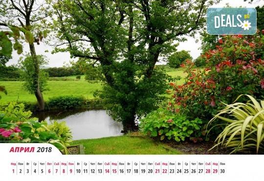 За офиса или дома! Вземете 6- или 12-листов календар с Ваши снимки и по собствен дизайн от Магазинчето на Руски паметник! - Снимка 5